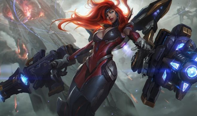 Ya está disponible Miss Fortune Gatillera Galáctica